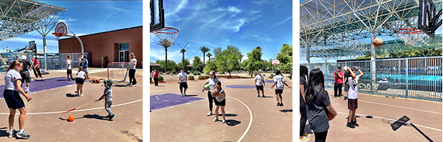 images of programs at Goodyear Y